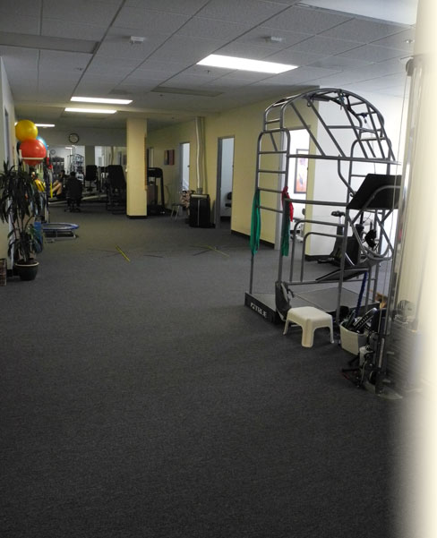 Inside the Made to Move Physical Therapy Office